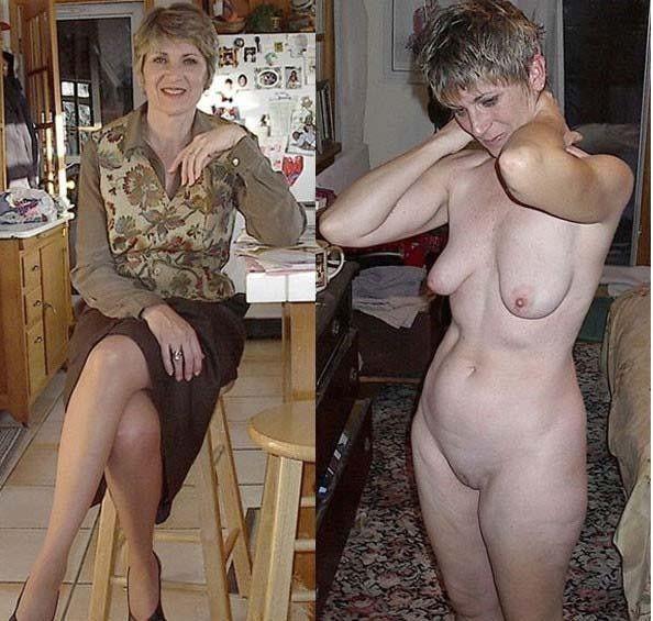 habillée/nue